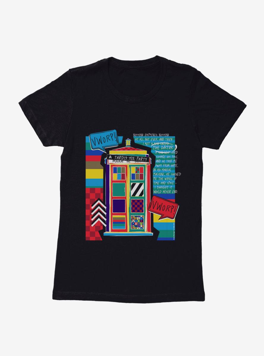 Doctor Who TARDIS Vworp Vworp Womens T-Shirt