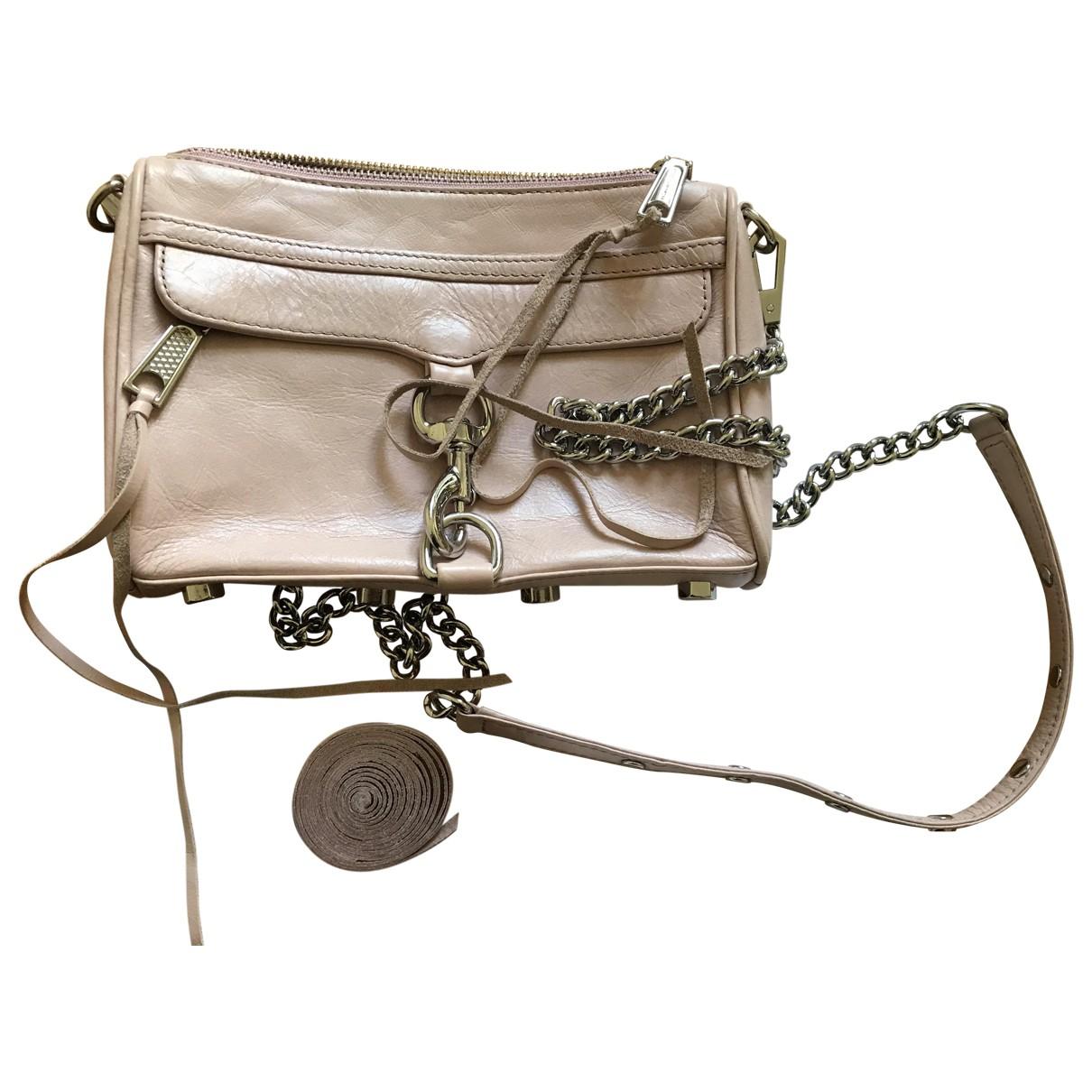 Rebecca Minkoff \N Pink Leather Clutch bag for Women \N