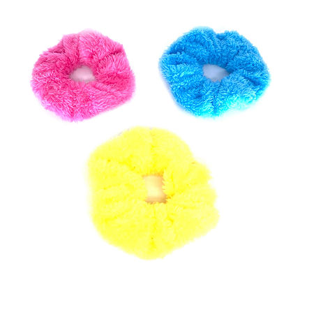 Mixit Scrunchie 3-pc. Hair Ties, One Size , Multiple Colors