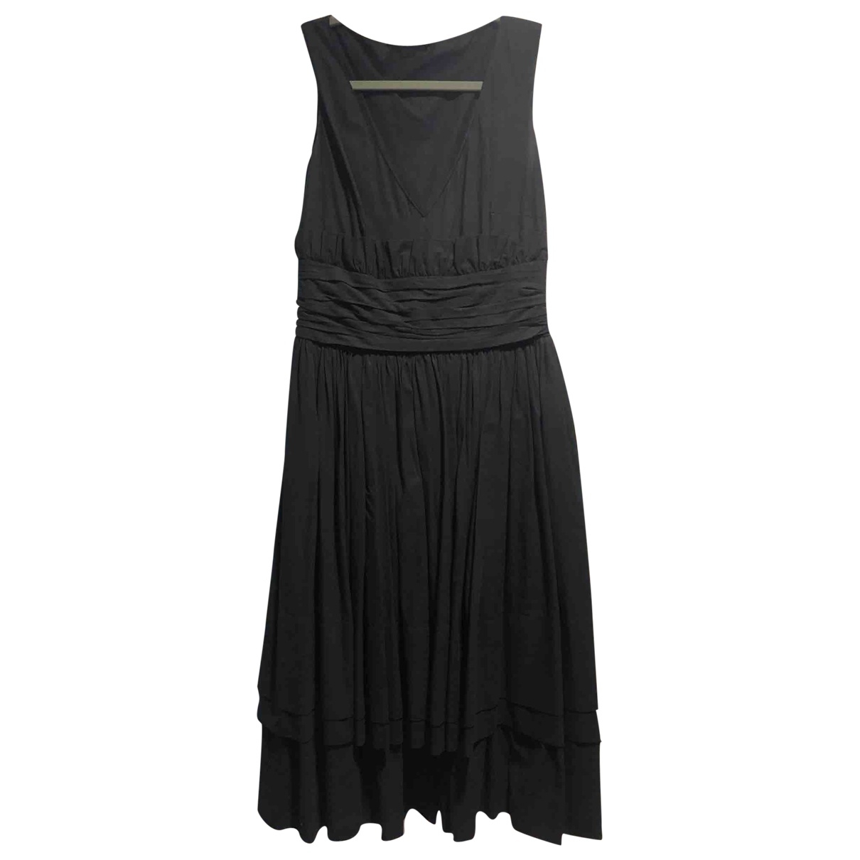 Prada \N Black Cotton dress for Women 40 IT