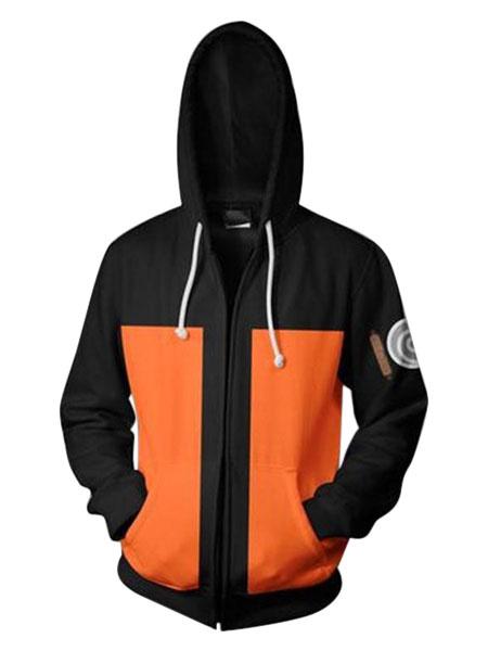 Milanoo Naruto Shipuuden Uzumaki Naruto Halloween Cosplay Anime Hoodie