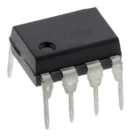 ON Semiconductor , 6N135M DC Input Transistor Output Optocoupler, Through Hole, 8-Pin PDIP (50)