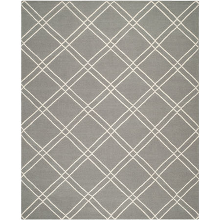 Safavieh Lamont Hand Woven Flat Weave Area Rug, One Size , Gray