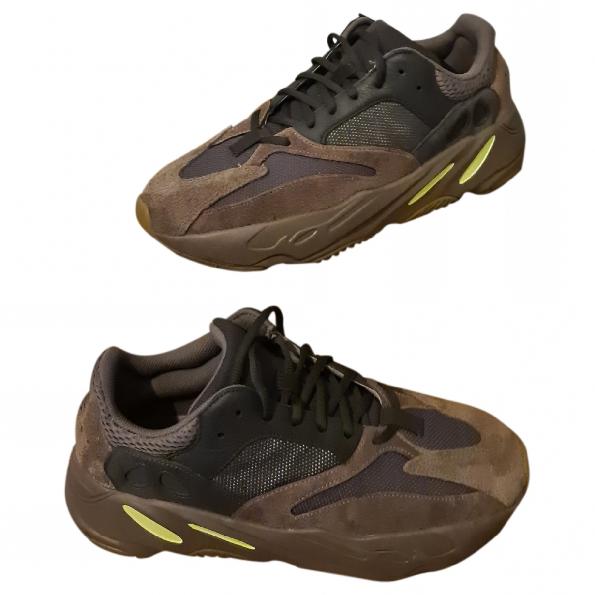 Yeezy X Adidas Boost 700 V1  Brown Suede Trainers for Men 10 UK
