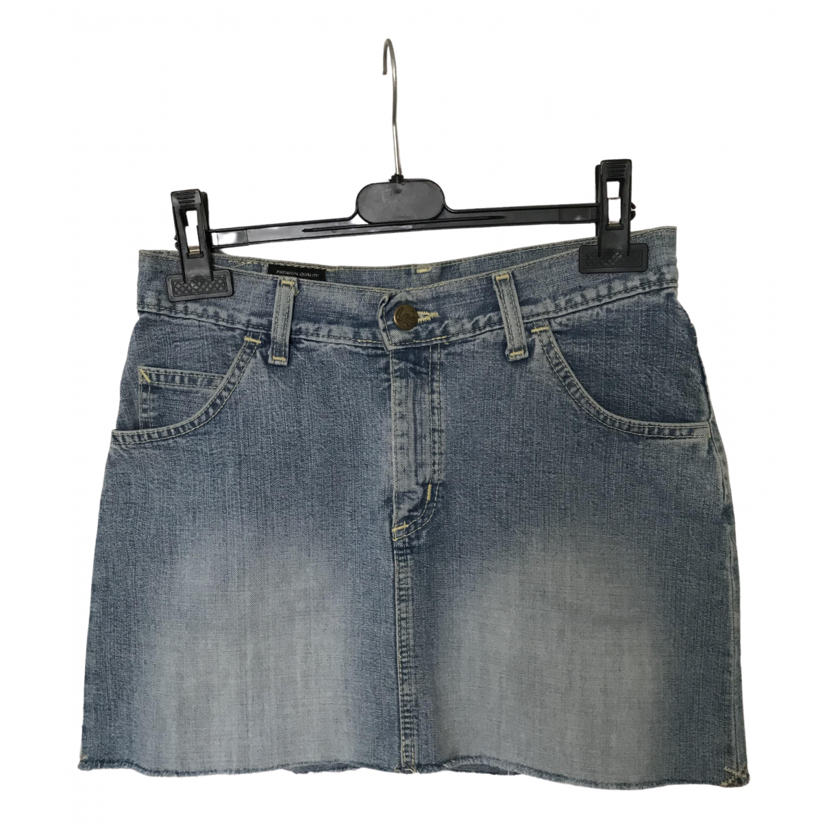 Lee \N Blue Denim - Jeans skirt for Women S International