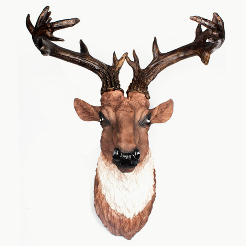 Elk Merry Christmas High Quality Wall Art