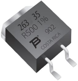 Bourns 500mΩ Thick Film SMD Resistor ±1% 35W - PWR263S-35-R500F