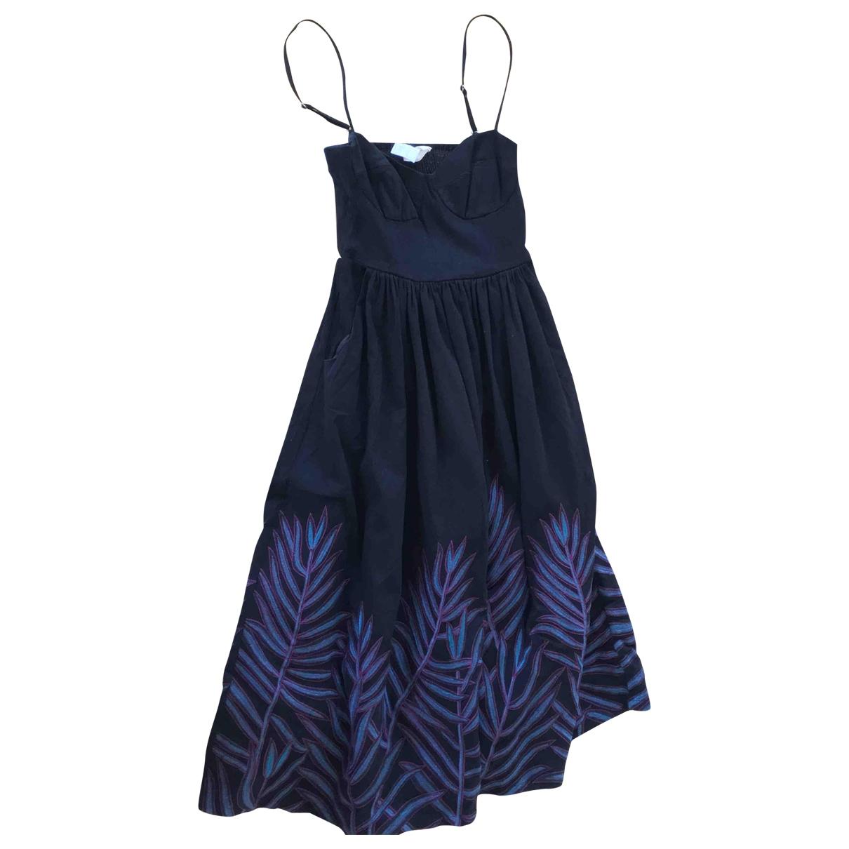 Mara Hoffman \N Black Cotton dress for Women 38 FR
