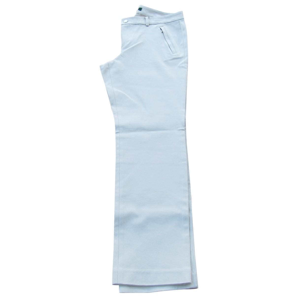 Lauren Ralph Lauren \N Beige Cotton Trousers for Women 10 US
