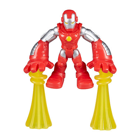 Playskool Heroes Marvel Super Hero Adventures The Power Up Squad Action Figures, One Size , No Color Family