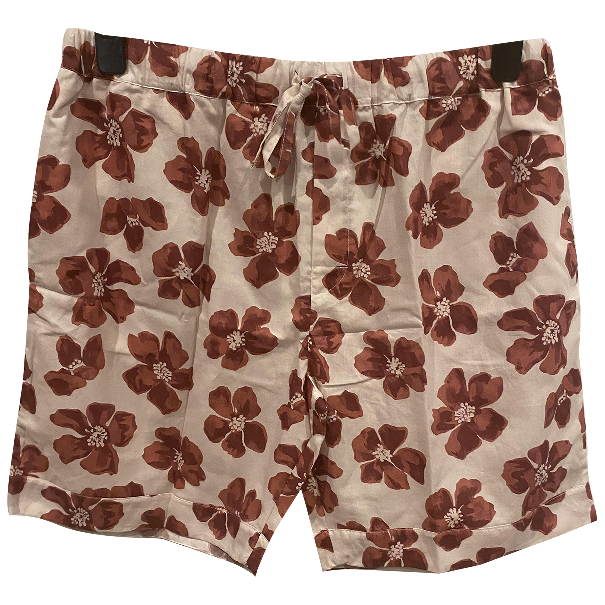 Desmond & Dempsey \N Red Cotton Shorts for Men XL International