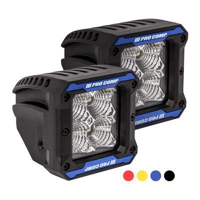 Pro Comp 2x2 Square S4 GEN3 LED Flood Lights - 76413P