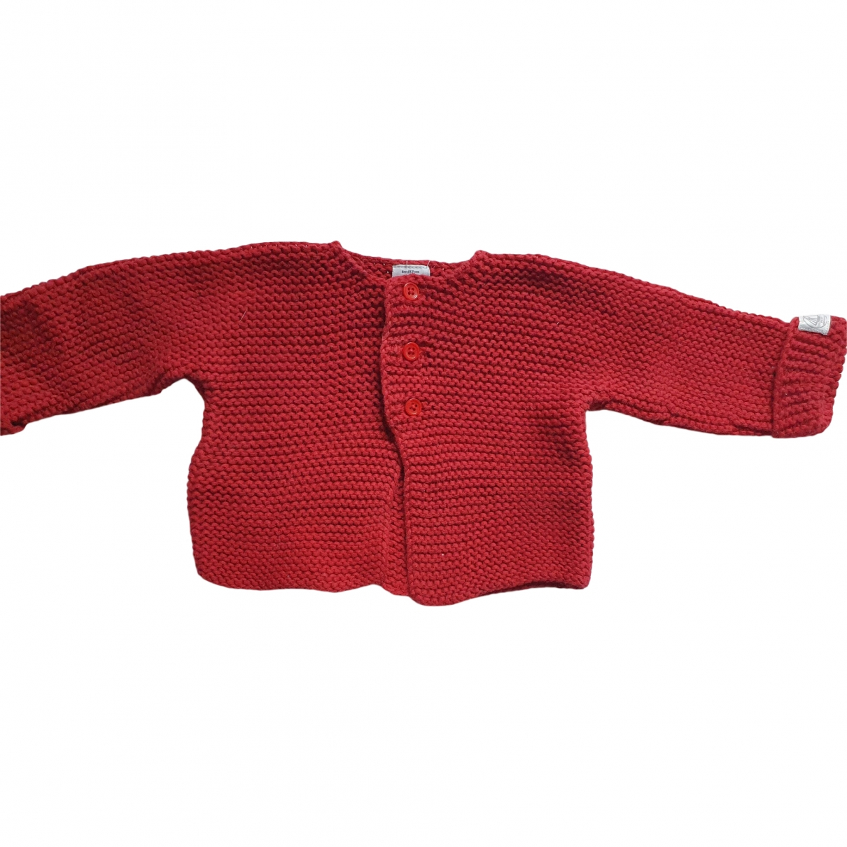 Petit Bateau \N Red Cotton Knitwear for Kids 6 months - up to 67cm FR