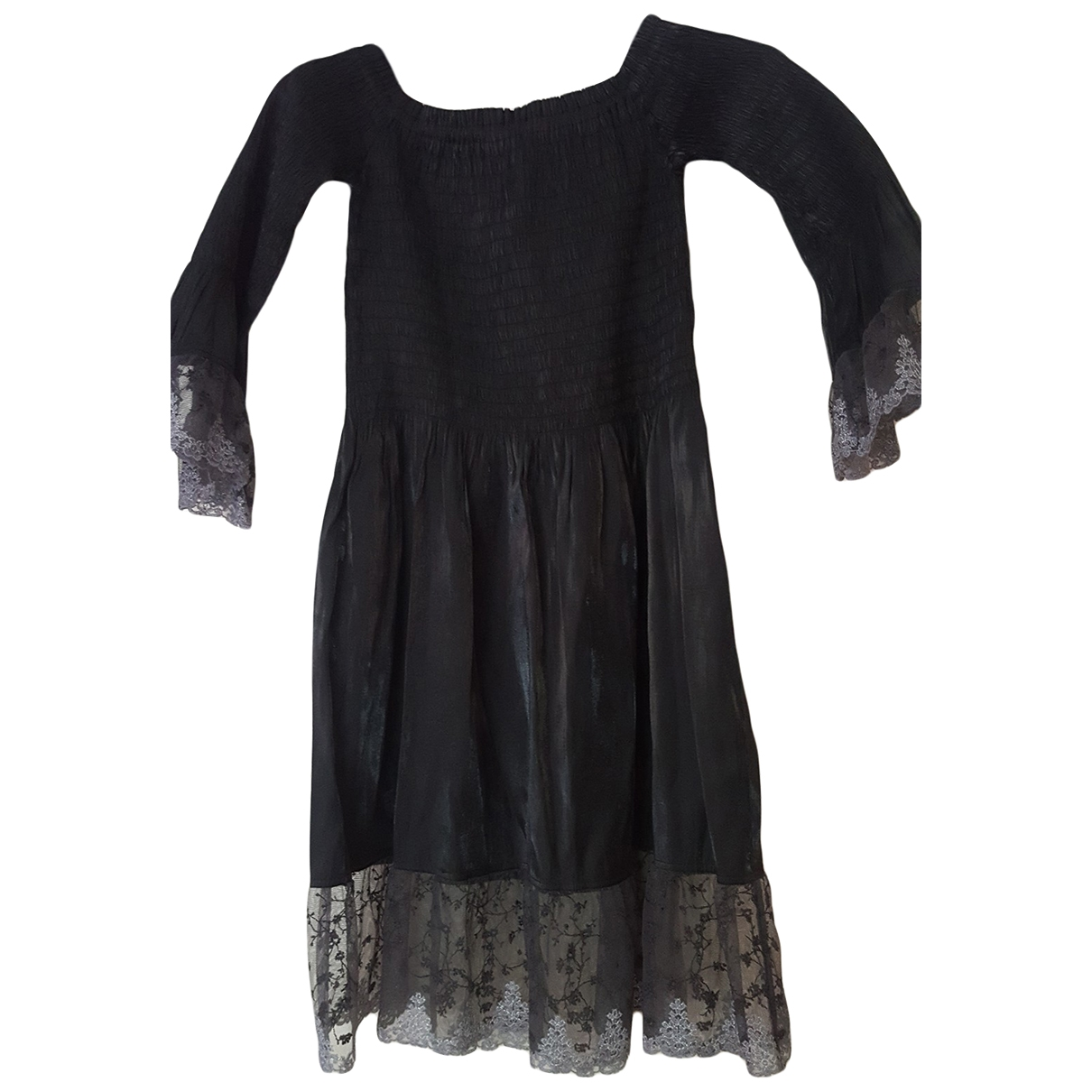 Non Signé / Unsigned \N Black dress for Women 42 FR