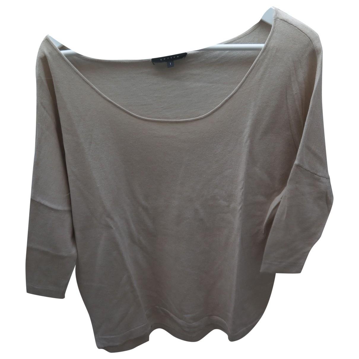 Kujten \N Beige Cashmere Knitwear for Women 1 0-5
