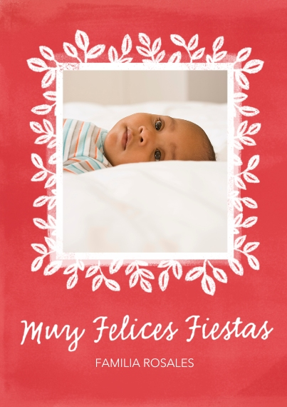 Tarjetas de Navidad Flat Matte Photo Paper Cards with Envelopes, 5x7, Card & Stationery -Christ is Born