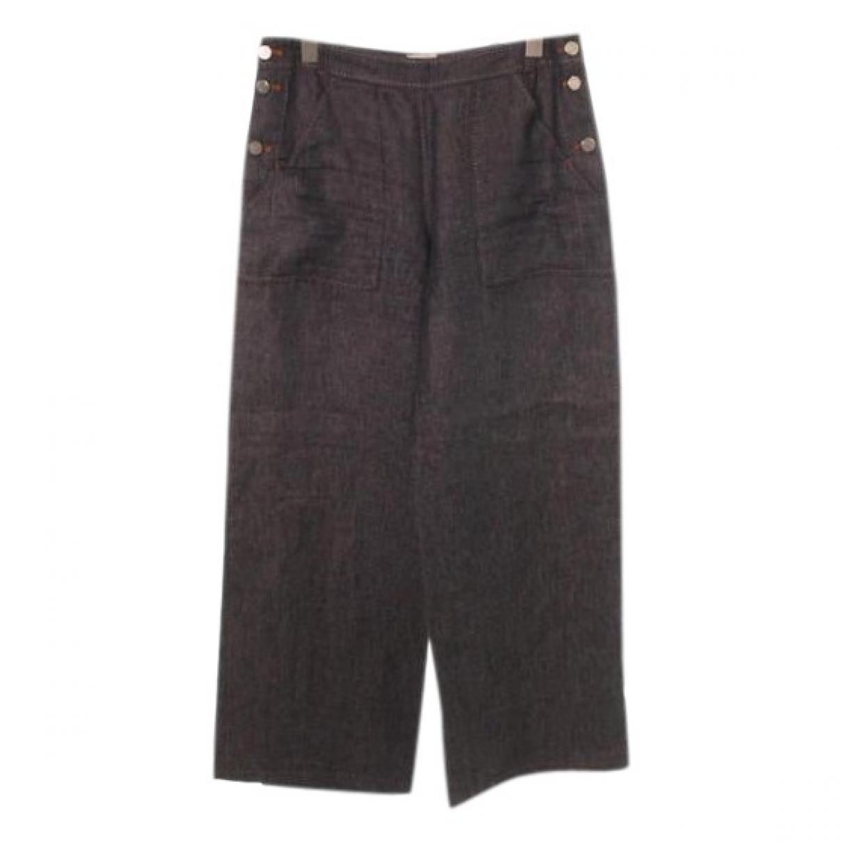 Hermès \N Blue Denim - Jeans Jeans for Women 38 FR