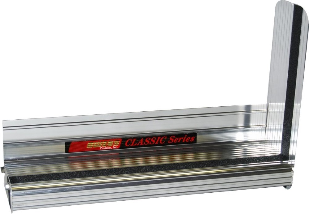Owens Products OC7440CX1 Running Boards Classicpro Series Extruded 4 Inch 97-17 Chevrolet/GMC Full Size Van Cutaway Chassis W/O Cladding 4 Inch Riser