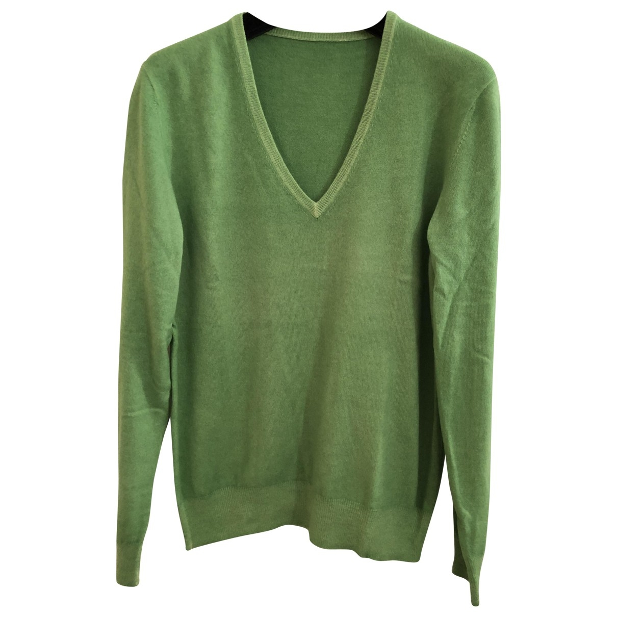 Non Signé / Unsigned \N Green Cashmere Knitwear for Women 44 IT