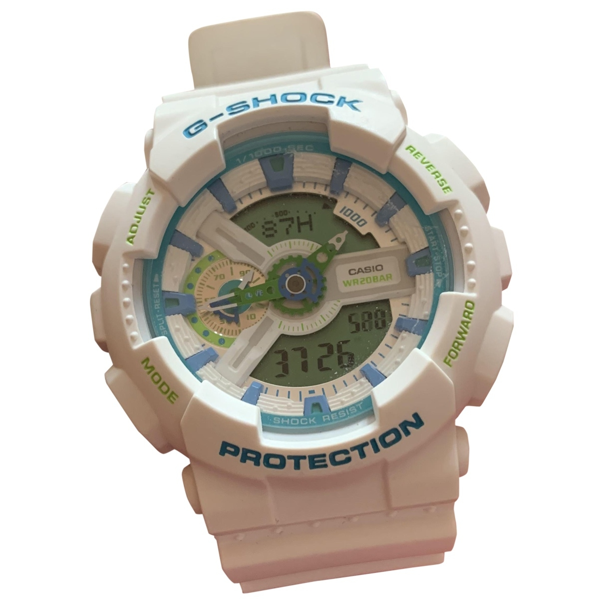 G-shock \N White Rubber watch for Men \N