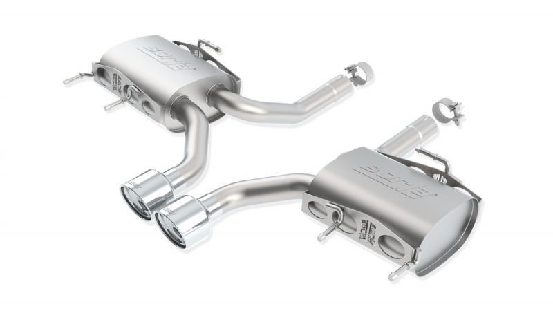 Borla S-Type Axle-Back Exhaust System Cadillac CTS-V 2011-2015 6.2L V8