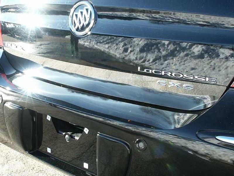 Quality Automotive Accessories 1 Piece Stainless 3.5 Inch Rear Deck Trim Accent Buick Lacrosse  05-09
