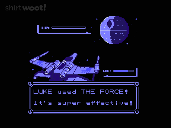 Used The Force T Shirt