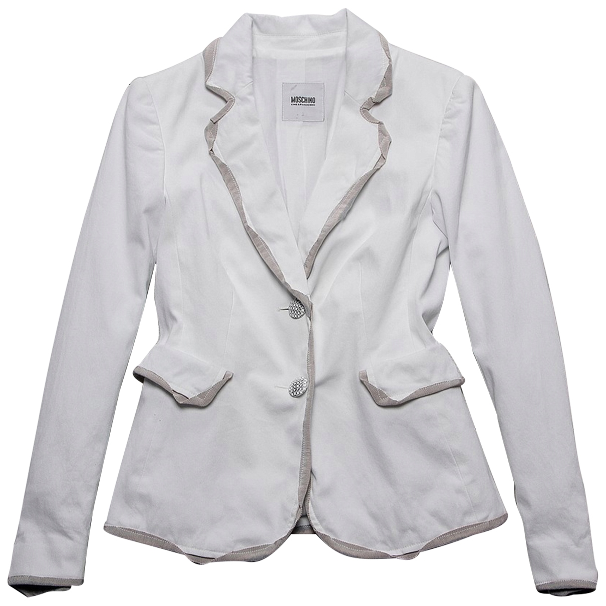 Moschino Cheap And Chic \N White Cotton jacket for Women S International