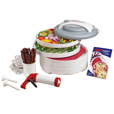 Nesco FD-61 Snackmaster Encore Food Dehydrator, One Size , White