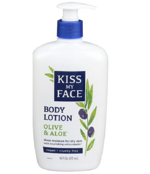 Deep Moisturizing Lotion Olive & Aloe, 16 Oz by Kiss My Face