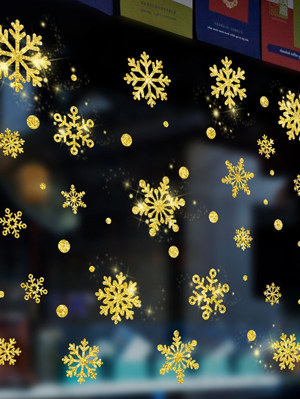 Christmas Snowflake Wall Sticker Set