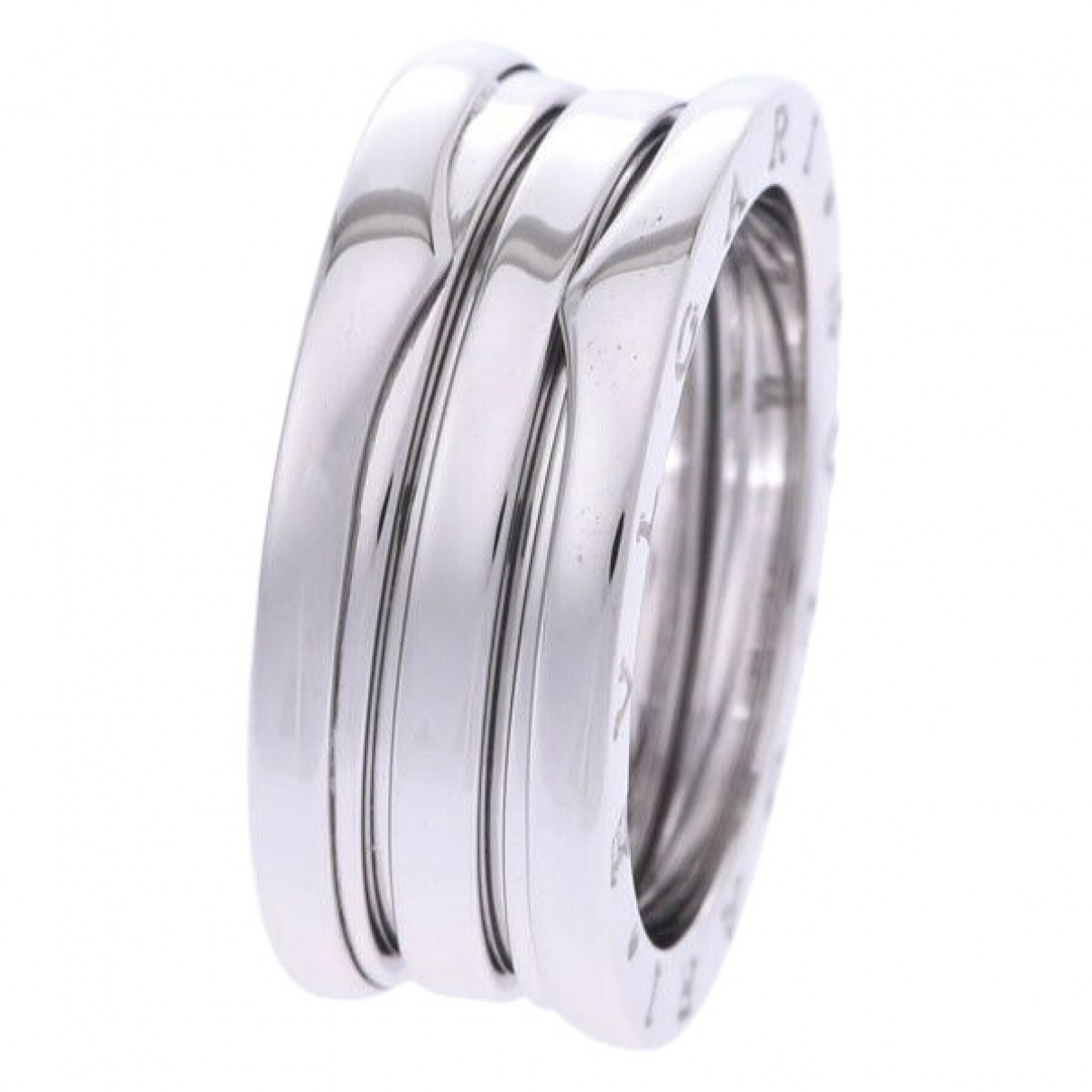 Bvlgari B.Zero1 Silver White gold ring for Women 7 ½