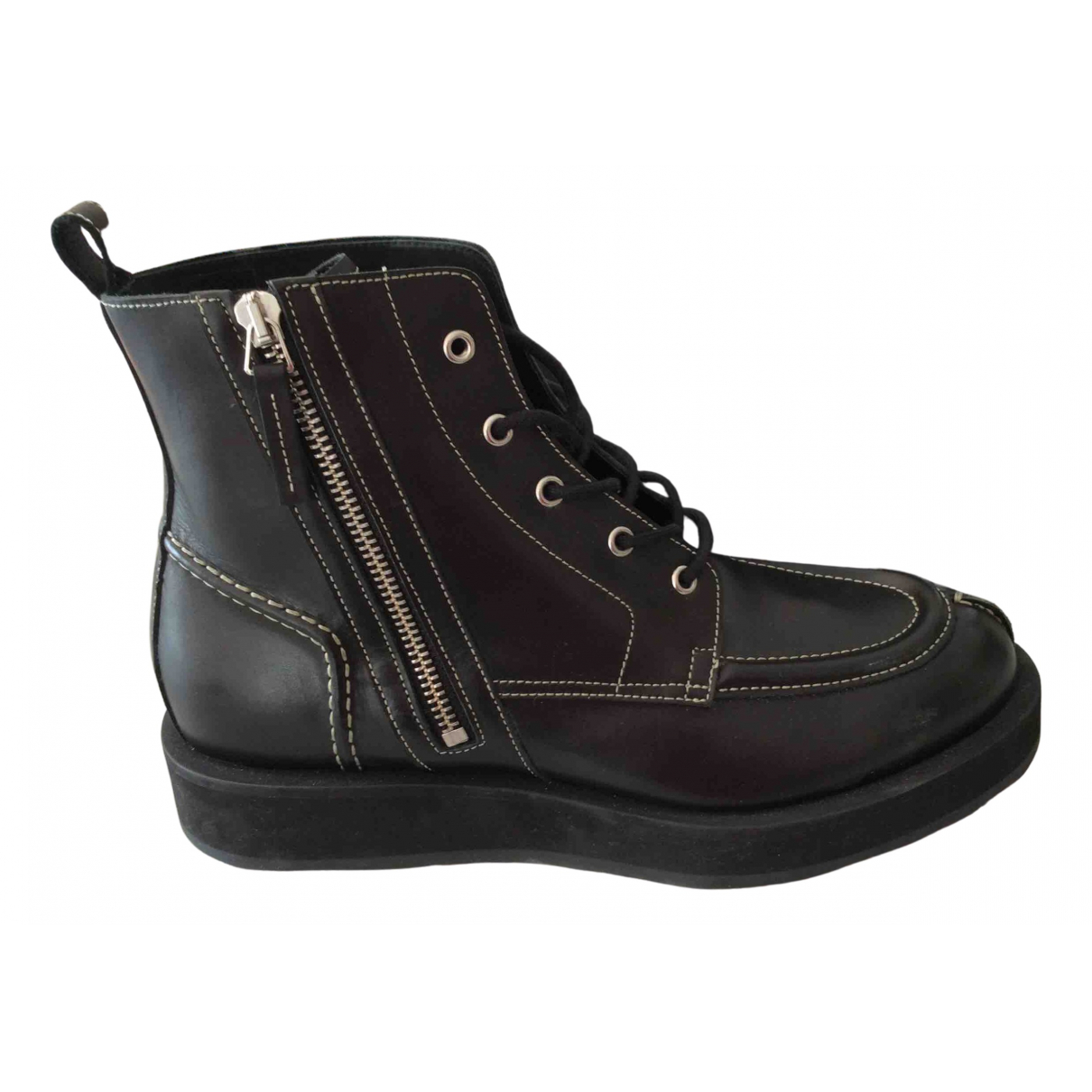 Pierre Hardy \N Black Leather Boots for Men 40 EU