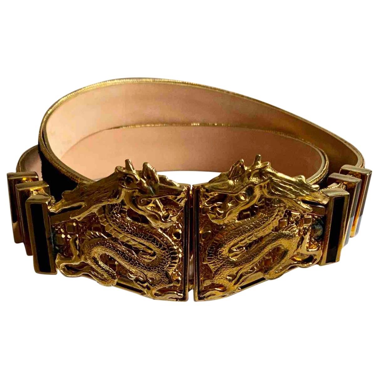Balmain \N Black Suede belt for Women M International