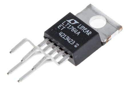 Analog Devices LT1764AET#PBF, LDO Regulator, 3A Adjustable, 1.21 → 20 V 5-Pin, TO-220