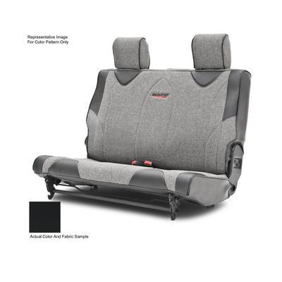 MasterCraft Safety Fold & Tumble Rear Seat Slip Cover, DirtSport Stitch (Black/Black) - 702634