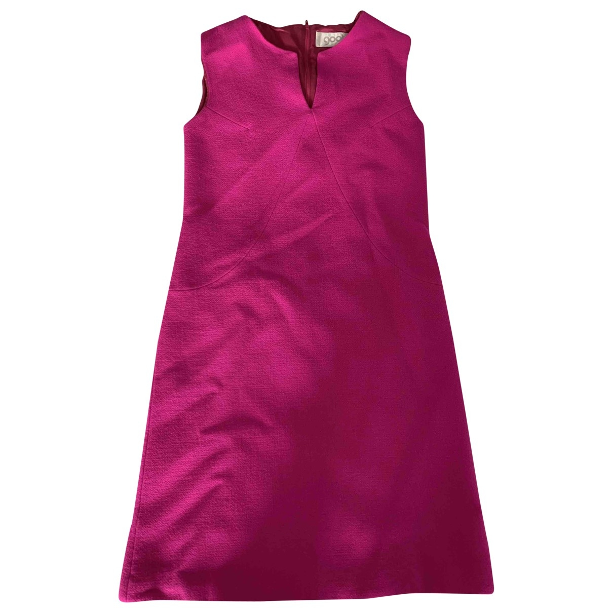Goat \N Pink Wool dress for Women 6 US