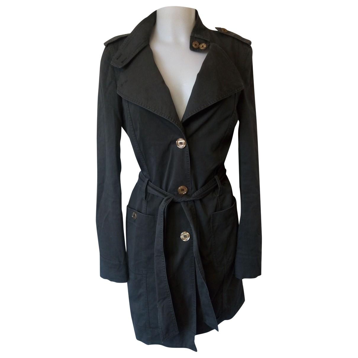 Liu.jo \N Grey Cotton Trench coat for Women 44 IT