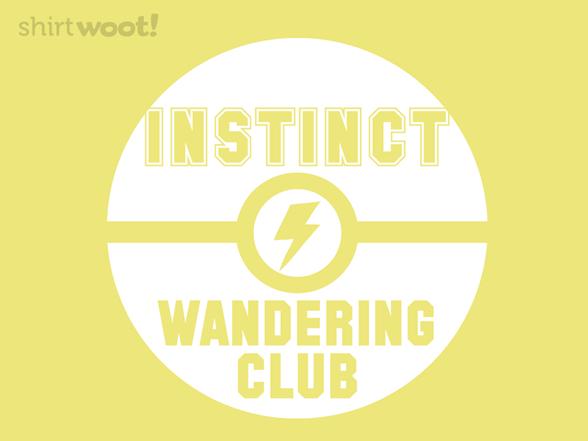 Instinct Wandering Club T Shirt