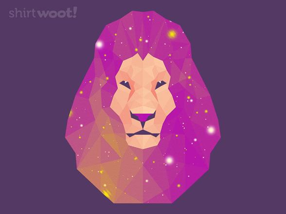 Space Lion T Shirt