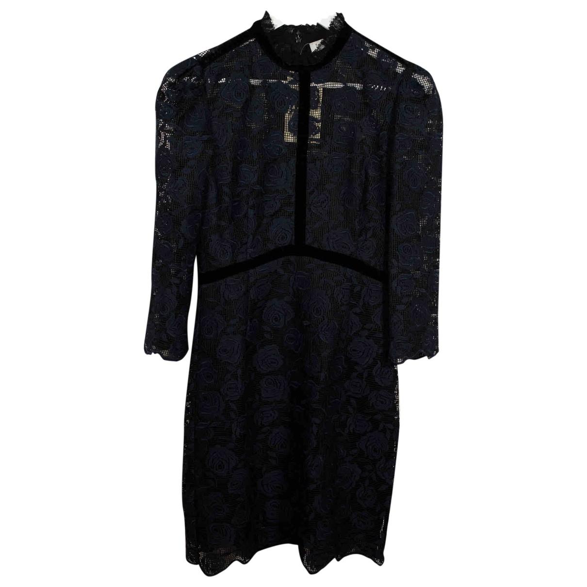 Sandro Spring Summer 2019 Blue Lace dress for Women 36 FR