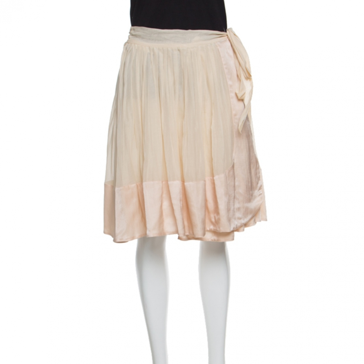 Chloé \N Beige Cotton skirt for Women 38 FR