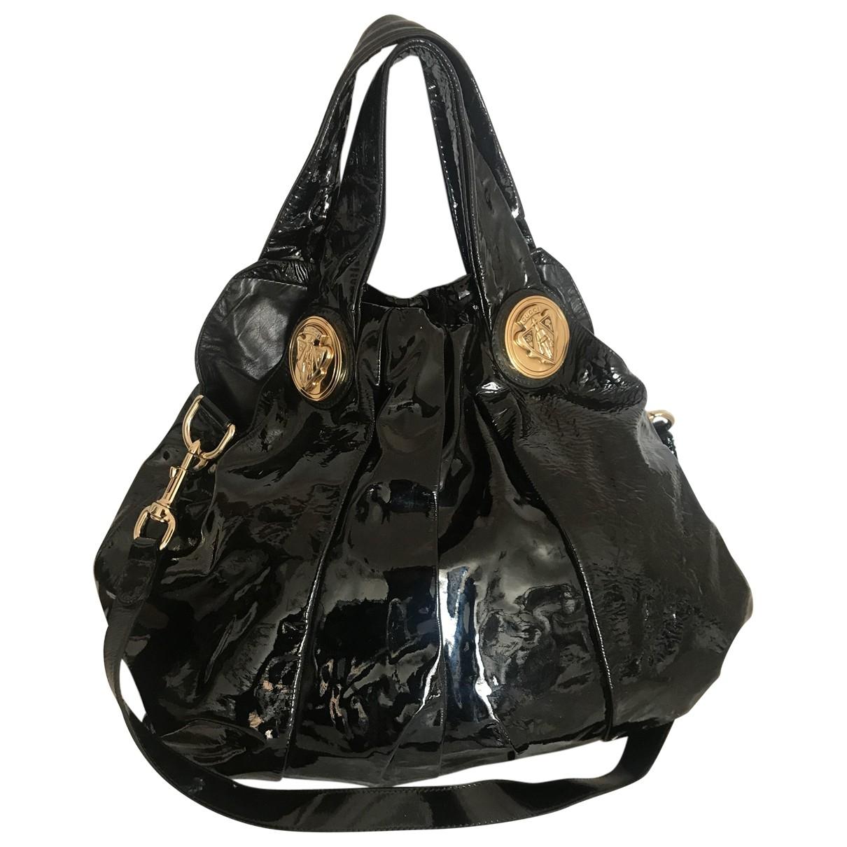 Gucci Hysteria Black Patent leather handbag for Women \N