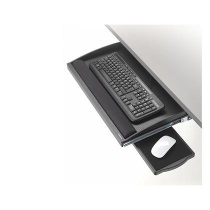 Exponent@ Tiroir clavier noir underdesk