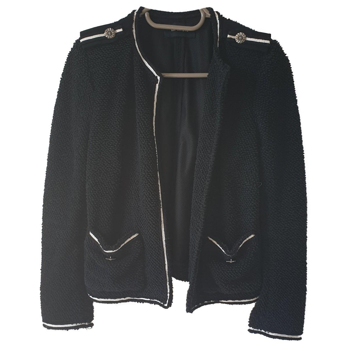 The Kooples \N Black Cotton jacket for Women 36 FR