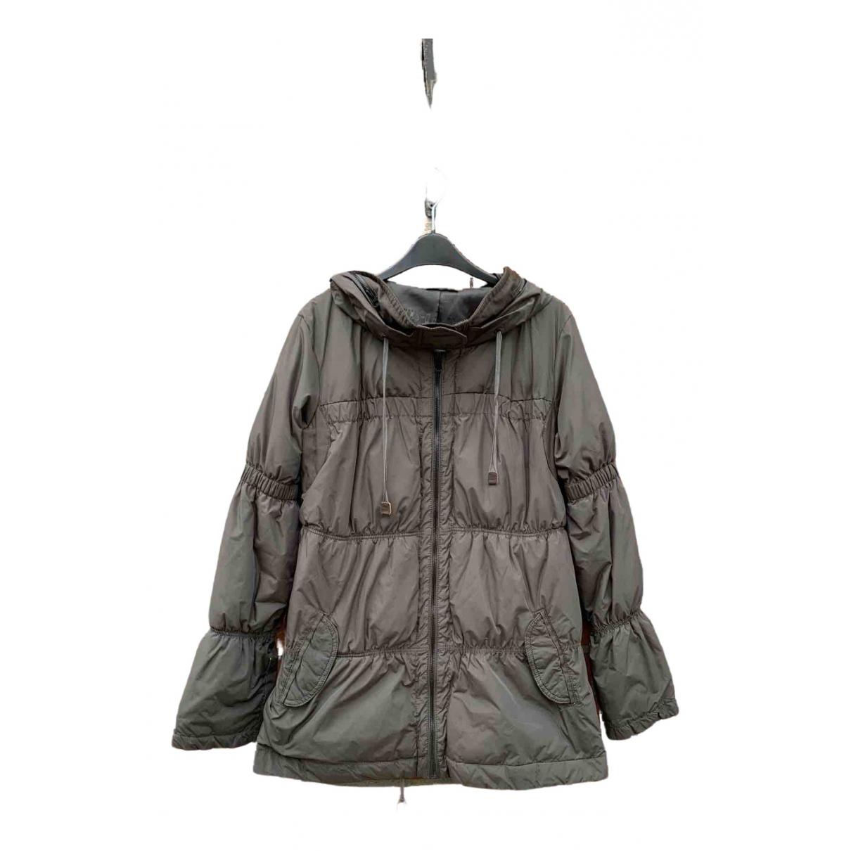 Ikks \N Grey Faux fur coat for Women 38 FR
