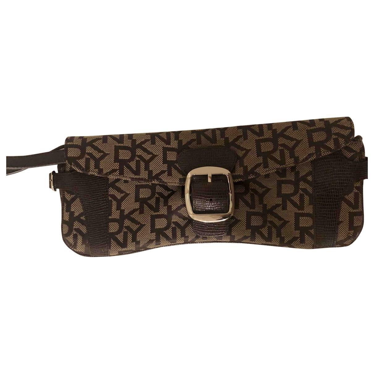 Dkny \N Black Cloth Clutch bag for Women \N