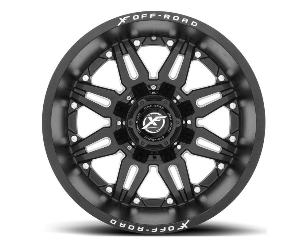 XF Off-Road XF-204 Wheel 20x10 5x127|5x139.7 -24mm Matte Black