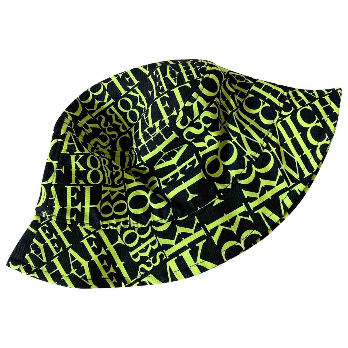 Michael Kors \N Black Cloth hat for Women 56 cm