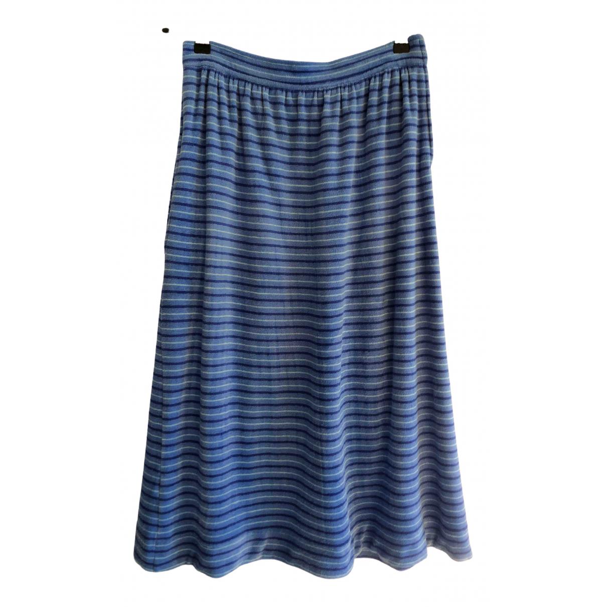 Non Signé / Unsigned \N Blue Sponge skirt for Women 36 FR